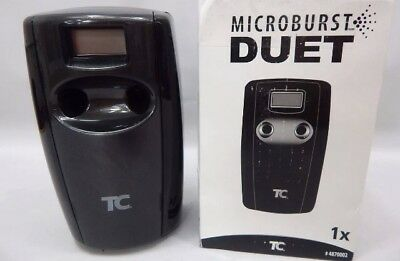 TC Microburst DUET Automatic Air Freshener 4870002 Black ODOR CONTROL Rubbermaid