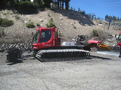 2004 Pisten Bully Snowcat- Groomer with Tiller