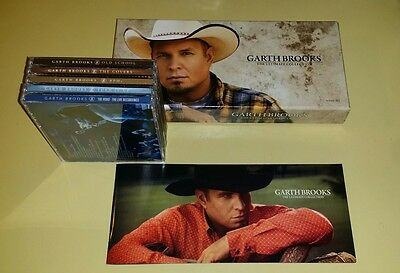 Garth Brooks The Ultimate Collection Cd 2016 Exclusive Target 10 Disc Set Album