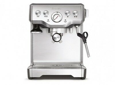 Breville the Infuser BES840BSS 15 Bar Espresso Coffee Machine with Milk Frother