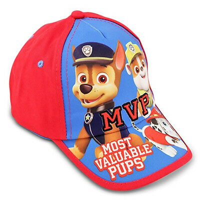 Nickelodeon Toddler Boys Paw Patrol MVP Cotton Baseball Cap Hat Kids Age 2-4