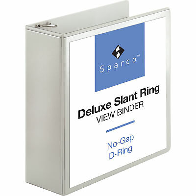 "Sparco Deluxe 4"" 3-Ring View Binder - SPR62471"