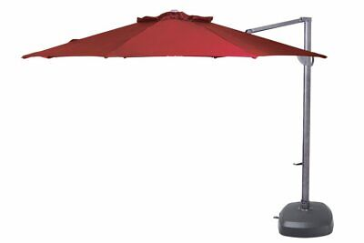 Shelta Australia Savannah 400x300 Rectangle Umbrella Cantilever Outside Colle...