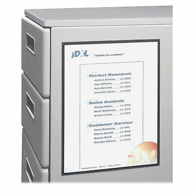 C-Line Magnetic Cubicle Keepers Display Holders, 8 1/2w x 11h, - CLI37911