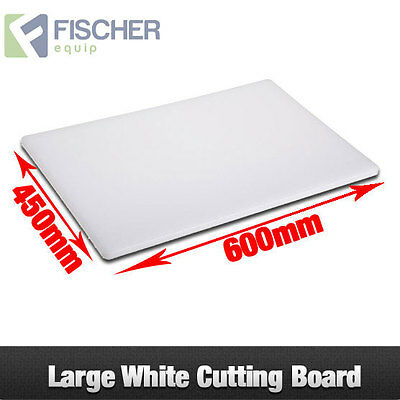 """""""BRAND NEW"""" CUTTING BOARD WHITE 600mm x 450mm x 20mm (LxWxH)"""