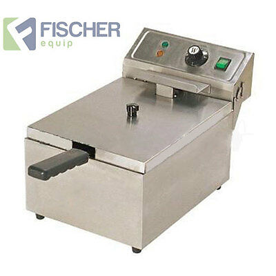 """""""brand New"""" Single Basket Commercial Deep Fryer Countertop Electric 10L Ef-101T"""