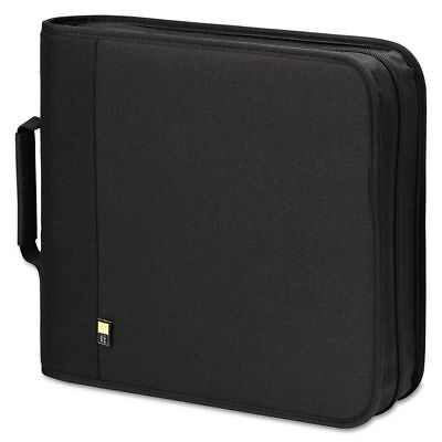 Case Logic CD/DVD Expandable Binder, Holds 208 Discs, Black - CLGBNB208