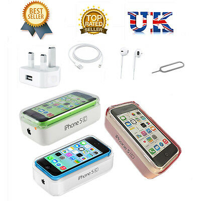 New Apple Iphone 5C 8Gb 16Gb 32Gb Factory Unlocked Sim Free Smartphone Uk Seller