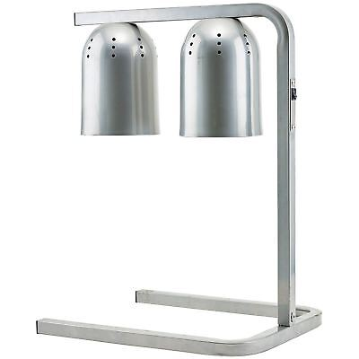 Winco EHL-2C Stainless Steel Electric Heat Lamp