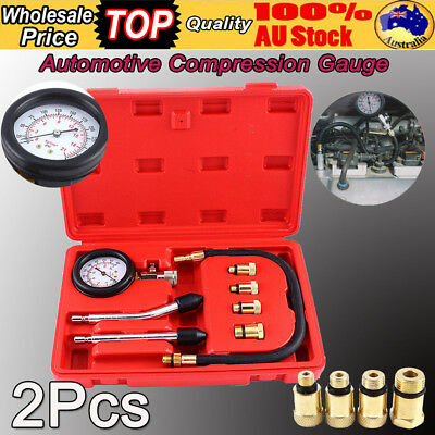 2X Car Cylinder Pressure Diesel Engine Compression Repair Tester Testing Tool
