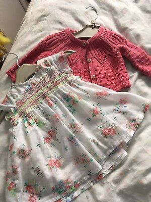 Next Baby Girl Upto 3 Months Outfit Cute!