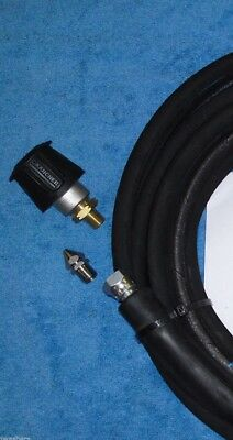 Karcher K Series Extension Hose Rubber & Drain Jetting Cleaning Quick Coupling