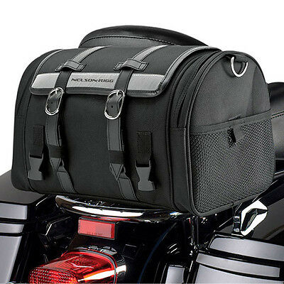 Nelson-Rigg Ctb-1010 Deluxe Motorcycle 17L Roll Bag. Lifetime Warranty!