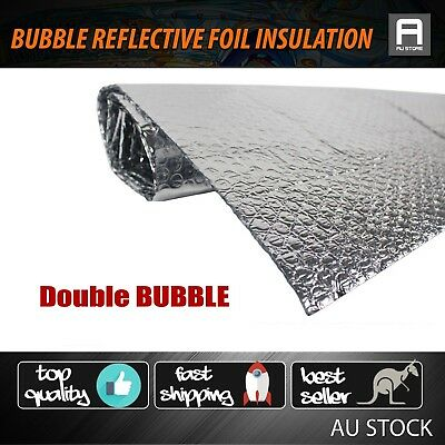 Reflective Foil Shed Attic Insulation Single Bubble 1000mm Widen Waterproof 1.5M