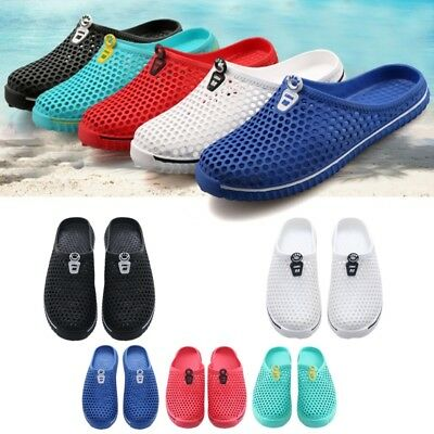 Men's & Women's Hollow out Breathable Slippers Beach Sandals Garden Hole Shoes
