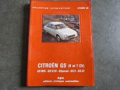 Ancien Guide Technique Citroen Gs