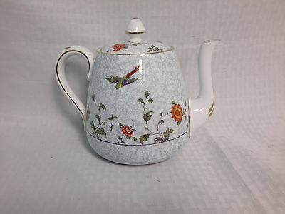 Crown China Birds of Paradise Pattern #592627  Teapot