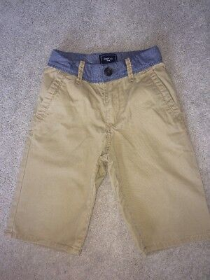 Gap Kids Boys Shorts Age 4-5, Beige, Tan