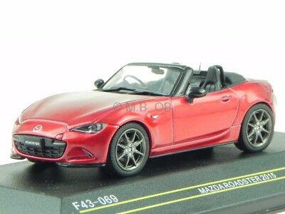 mazda mx 5 2015 rot metallic 1 18 triple9 neu ovp. Black Bedroom Furniture Sets. Home Design Ideas