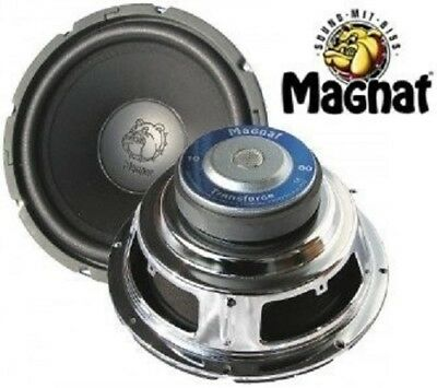 1 Stück 25 cm Subwoofer Magnat Transforce 1000 Basslautsprecher 250 Watt max.