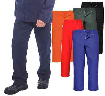 Portwest BZ30 BizWeld Mens FR Work Trousers Flame Retardant Welders Workpants