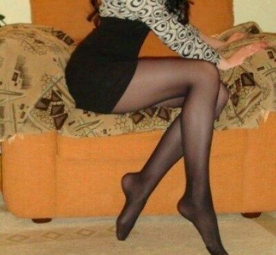 calze Usate, collant usato,  tight, Pantyhose USED. Color black