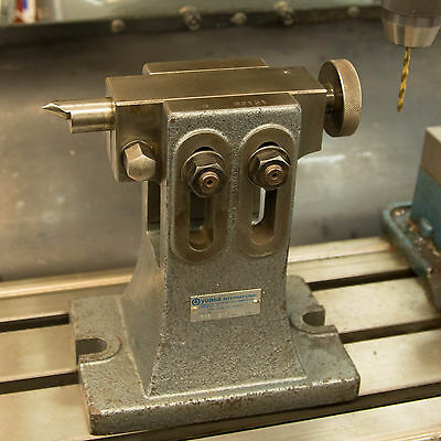 YUASA adjustable tailstock for rotary tables and heads  #553-311 (nice!)