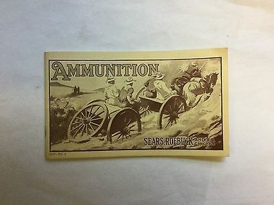 Vintage Ammunition Catalog, Sears, Roebuck and Co. Chicago, 1964