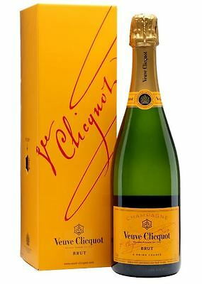 Veuve Clicquot Champagne Yellow Label NV Gift box, 75 cl