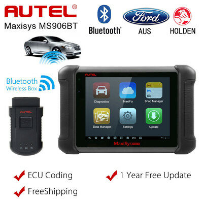 Autel MaxiSys MS906BT OBD2 Auto Diagnostic Tool Code Scanner Better DS808 MS906