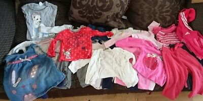 Baby girls clothes 6-9 months MASSIVE BUNDLE, NEXT, GEORGE, HM, F+F, EARLY DAYS,