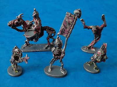 Miniature - GRENADIER - UNDEAD - 1985 Skeleton Metal Miniatures