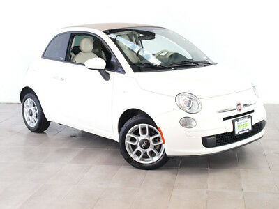 2013 Fiat 500 c Pop Convertible 2-Door 2013 FIAT 500 POP MANUAL CONVERTIBLE