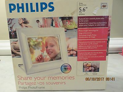"Philips Digital Photo Frame 5.6"" Lcd"