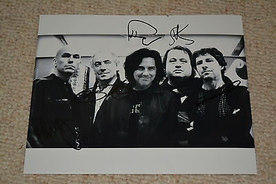 MARILLION signed autograph In Person 8x10 (20x25 cm ) full band