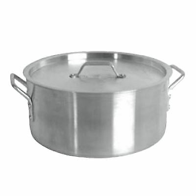 Thunder Group SLSBP030 Brazier, 30 Quart, with Cover,18/8 Stainless Steel, NSF