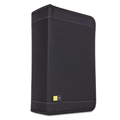 Case Logic CD/DVD Wallet, Holds 136 Discs, Black - CLGCDW128T