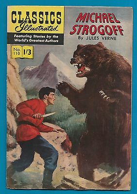 Classics Illustrated Comic Michael Strogoff  by Jules Verne #886