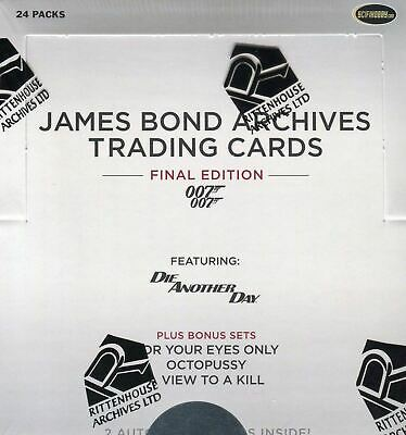 James Bond Archives 2017 Final Edition Card Box