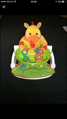 Fisher Price Giraffe Sit Me Up Baby Support Seat