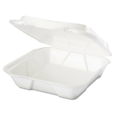 Genpak Takeout Foam Clamshell Food Containers - GNPSN200