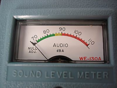 RCA Sound Level Meter WE-130A, parts, repair, or display only