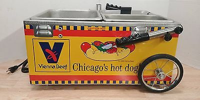 Marlin Stainless Steel Commercial Hot Dog Wagon Vienna Beef Cooker