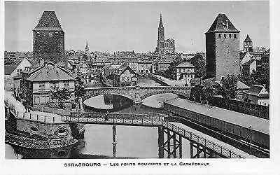 67 Strasbourg Ponts Couverts Et Cathedrale