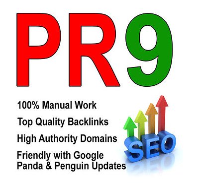 20 PR9 TOP QUALITY Backlinks from PR 9 High Authority - Promote Your Business
