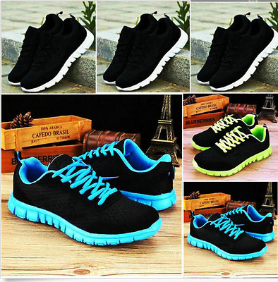 Fashion Women's Running Breathable Shoes Sports Casual Athletic Sneakers