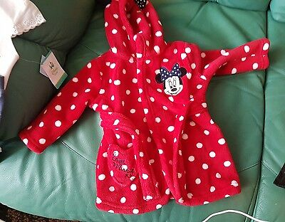 disney baby dressing gown 3-6 months