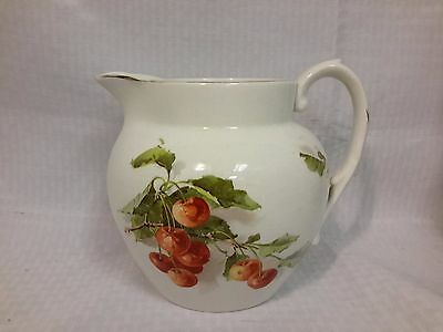 Antique  Edwin M Knowles Semi-Vitreous White Pitcher Early 1900's