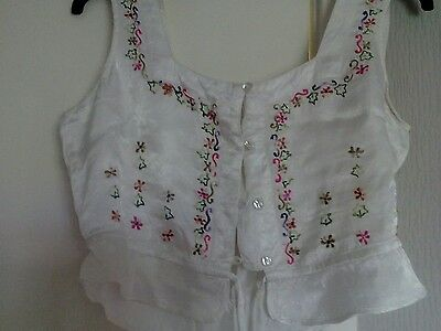 Satin camisole size approx 12/14