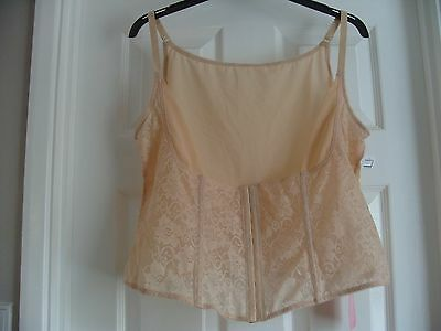 Natural Nude Lace Bodice Camisole Cami - Size 26 - Bnwt